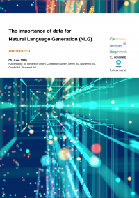 Whitepaper about the topic: The importance of data for Natural Langugage Generation